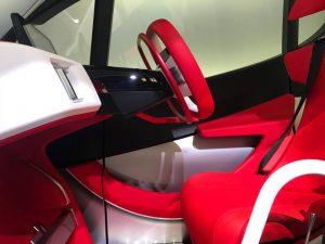 東京モーターショー トヨタ車体発表車両 手動装置
